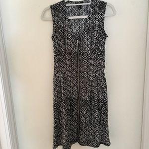 H&M Front Zipper Tank Dress